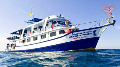 Dolphin Queen Similans liveaboard Phuket