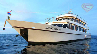 Hallelujah Similans liveaboard diving