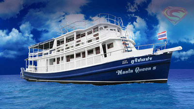 Similan Islands liveaboard Manta Queen 5